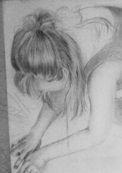 Early drawing stages. By Maya Hum