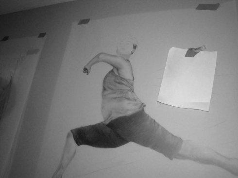 Sneak peak of work in progress by Maya Hum