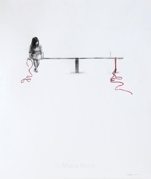 Keep Balance, by Maya Hum