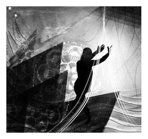 """Open"" by Maya Hum 2013"