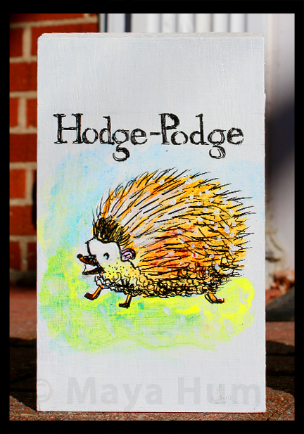 """Hodge-Podge"" By Maya Hum"