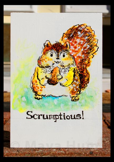 """Scrumptious"" by Maya Hum"