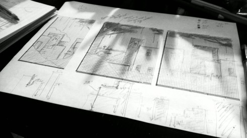 NBO 2014 installation blueprint. Rough. Maya Hum