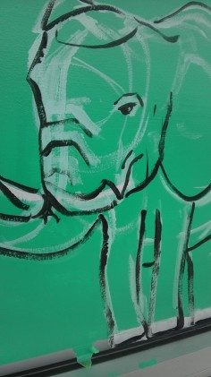 Street-art Maya Hum