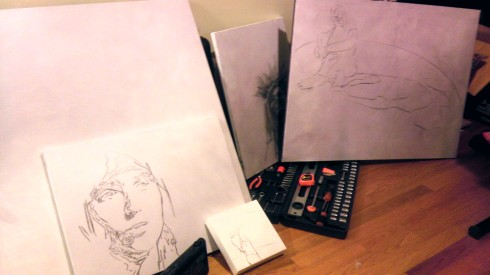 Canvas Sketchings By Maya Hum