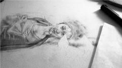 Jacqui - Unfinished drawing by Maya Hum_01
