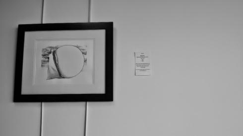 """Seeing"" pencil on paper. By Maya Hum"