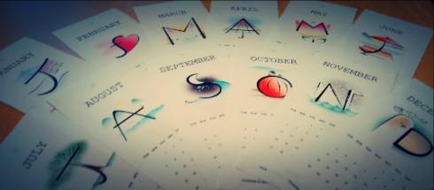2016 Calendar by Maya Hum