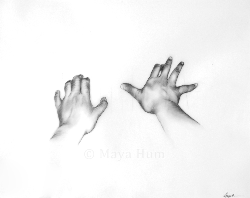 "Eight eight, graphite on mylar, 20x16"" 2009"