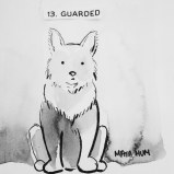 Maya Hum Inktober 2018 prompt: Guarded
