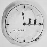 Maya Hum Inktober 2018 prompt: Clock