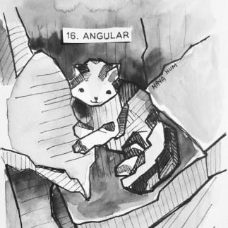 Maya Hum Inktober 2018 prompt: Angular