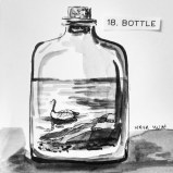 Maya Hum Inktober 2018 prompt: Bottle