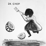 Maya Hum Inktober 2018 prompt: Chop