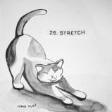 Maya Hum Inktober 2018 prompt: Stretch